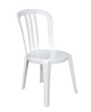 location housses de chaise Miami garden plastique blanc