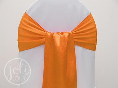 Location-ceinturage-orange-satin-pour-housses-de-chaises