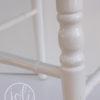 Location chaise napoleon iii blanche en bois chatellerault montmorillon chateauroux