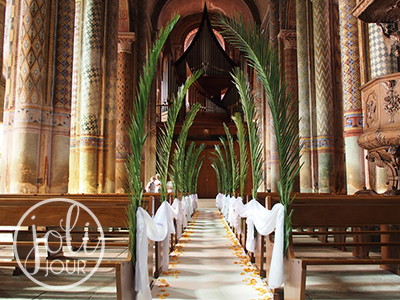Location drapes voilages pas cher decoration ceremonie eglise