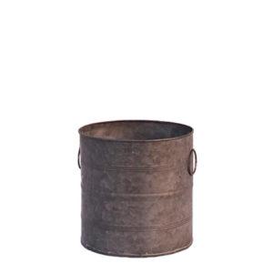 Location grand pot galvanisé - Décoration de mariage - Centre de table