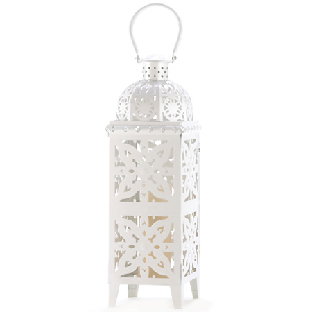 Location grandes lanternes marocaines blanches decoration mariage oriental poitiers tours