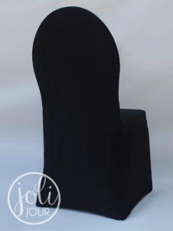 Location housses de chaises noires lycra poitiers niort la rochelle angouleme tours limoges angers nantes