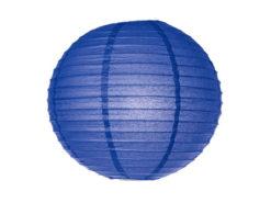 Location lanternes rondes boules chinoises bleu nuit roi electrique pas cher mariage