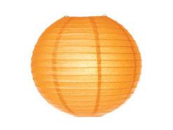 Location lanternes rondes boules chinoises orange tropical exotique