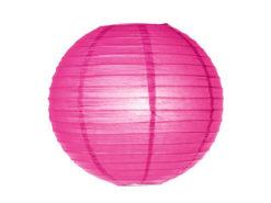Location lanternes rondes boules chinoises roses fushia framboise
