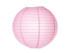 Location lanternes rondes boules chinoises roses pale pastel