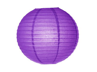 Location Lanternes Boules Violettes Joli Jour