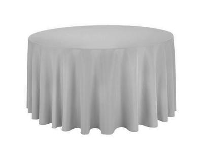 Location nappes rondes grises argent gris perle diametre 290 300 310 cm coton mariage poitiers angouleme