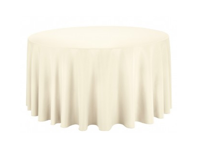 Nappe ronde ecru table de cuisine - Nappe de table rectangulaire grande taille ...