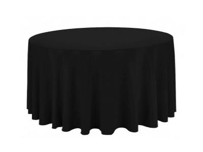 Location nappes rondes noires - Séminaire, gala, soirée