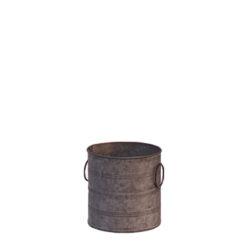 Location petit pot en zinc - Décoration de mariage métal - Centre de table