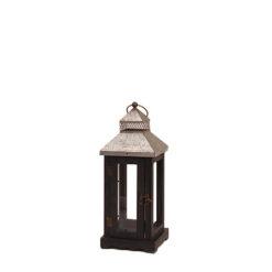 Location petites lanternes noires et metal poitiers