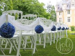 Location piquets de ceremonie blancs support bouts de banc poitiers niort tours angouleme la rochelle