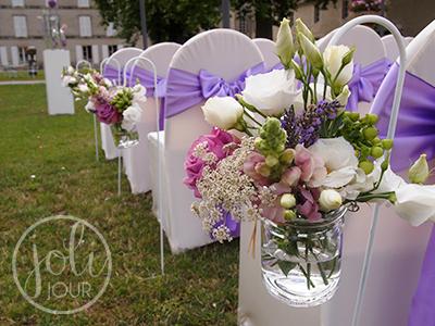 Location Piquets Bouts De Banc Cérémonie De Mariage Joli Jour