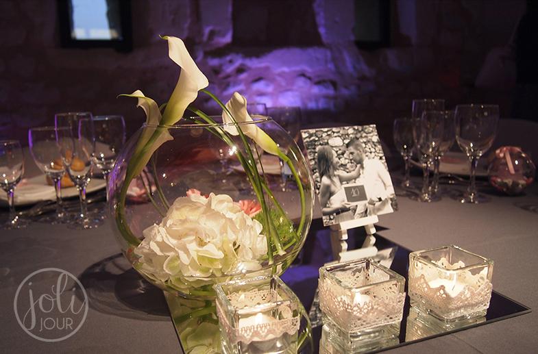 Location vases boules Poitiers et photophores en verre