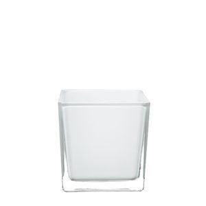 Location vases carrés blancs mariage - Poitiers Chatellerault Niort Angouleme La Rochelle